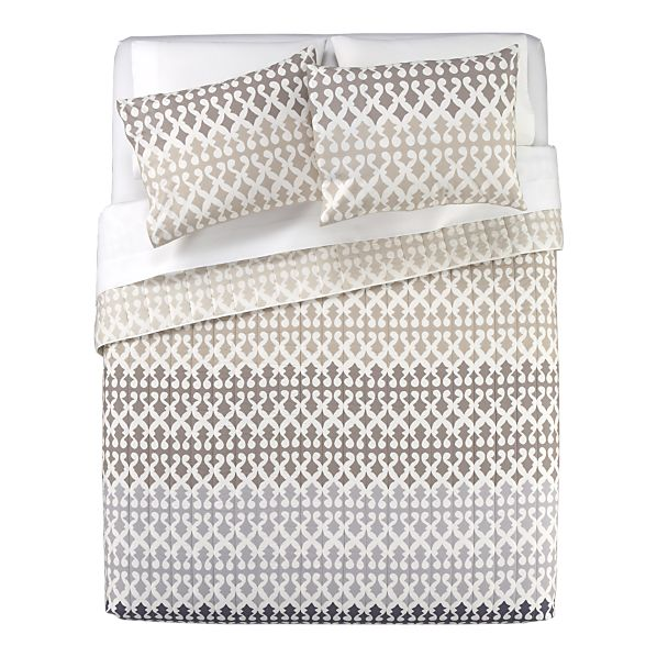 New parents new bedding spotted styles for Crate barrel comforter