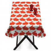 Kissing Rabbits Tablecloth